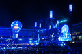 Muse live concert in turin on june th Royalty Free Stock Image