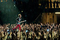Muse live concert in turin on june th Royalty Free Stock Photos