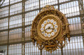 Musee d'Orsay Clock (Orsay Museum) in Paris Royalty Free Stock Photo