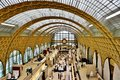 The Musee d'Orsay in Paris, France Royalty Free Stock Photo