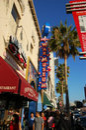 Museo de la cera en la caminata de Hollywood de la fama Fotografía de archivo