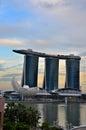 Museu de marina bay sands art science e rio de singapura Imagem de Stock Royalty Free