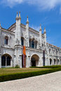 Museum of archeology lisbon national museu nacional de arqueologia in the belem district portugal integrated in the jeronimos Stock Images