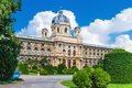 Museum of art history in vienna austria scenic summer view kunsthistorisches the old town Royalty Free Stock Photo