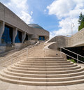 Museum of civilization a portion the in quebec canada Royalty Free Stock Photography