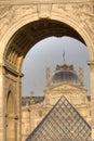 Museum du Louvre Image stock