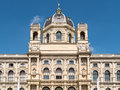 The museum of natural history naturhistorisches museum in vienna built also known as nhmw is a large located Stock Images
