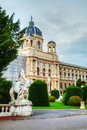 Museum natural history vienna austria evening Royalty Free Stock Photos