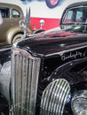 The museum of retro cars in moscow region of russia vintage on street rogozhsky val city is one Stock Image