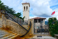 Museum of seafaring in open air herceg novi montenegro the Stock Photo