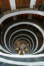 Museum of the spiral staircase in Saudi Arabia Stock Photo
