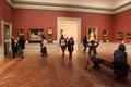 Museum visit, New York Royalty Free Stock Photo