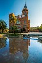 Museum of zoology barcelona afternoon reflection the in spain Royalty Free Stock Image