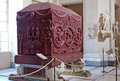 Museums of Vatican. Elena's sarcophagus. Royalty Free Stock Photo