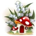 Mushroom Fantasy House