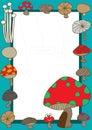 Mushroom Home_eps Royalty Free Stock Photo