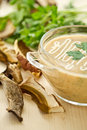 Mushroom puree soup Stock Photography