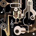 Music Background - abstract vector illustration Stock Photos