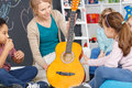 Music classes for kids Royalty Free Stock Photo