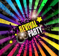 Music Club background for disco dance event Royalty Free Stock Photo