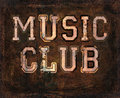 Music club grunge  background Royalty Free Stock Photo