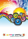 Music Colorful Background for Flyers Royalty Free Stock Images