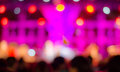 Music concert background bokeh blur Royalty Free Stock Photo