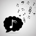 Music design notes vector illustration eps Stock Photos