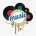 Music design Royalty Free Stock Photo