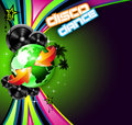 Music Event Background for Disco Flyers Stock Photography