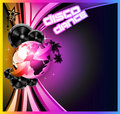 Music Event Background for Disco Flyers Royalty Free Stock Photo