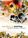 Music Event Discoteque Flyer Royalty Free Stock Image