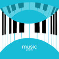 Music festival poster background. Musical jazz concert piano music cafe promotional poster Royalty Free Stock Photo