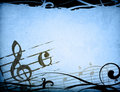 Music grunge backgrounds Royalty Free Stock Image