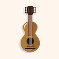 Music guitar theme elements vector,eps Royalty Free Stock Photo