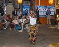 Music in hotel in gambia and dancing show kombo beach Royalty Free Stock Image