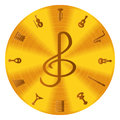 Music Icons Royalty Free Stock Photo