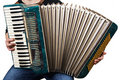 Music instrument accordion Royalty Free Stock Images