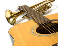 Music instruments Royalty Free Stock Photography