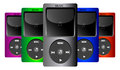 Music iPod set Royalty Free Stock Photo