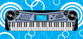 Music keyboard Royalty Free Stock Photography