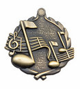 Music Medallion Royalty Free Stock Photo