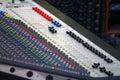 Music mixer Royalty Free Stock Photo