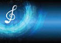 Music note background design Stock Images