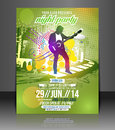 Music Party Flyer Design