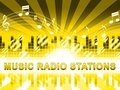 Music Radio Stations Shows Song Broadcasting Channels