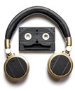 Music Robot Headphone Royalty Free Stock Photo