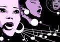 Mujer música