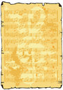 Music sheet background Royalty Free Stock Image