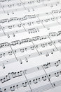 Music sheets Stock Photo